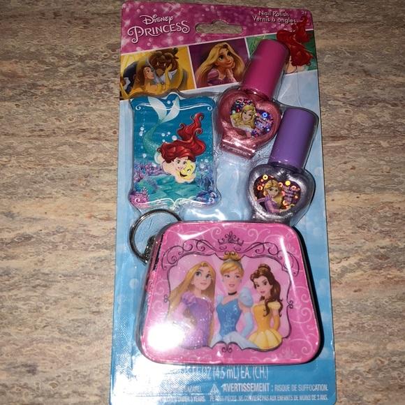 NEW Disney Princess Nail Set
